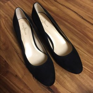Cole Haan Black Suede Shoes